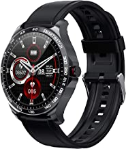 """Smart Watch Fitness Tracker, 1.3"""" Full Touch Screen Sport Smartwatch with Step Counter, Heart Rate Monitor Pedometer Sleep..."""