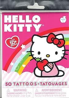 Hello Kitty, Over 50 Temporary Tattoos