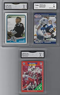 price of barry sanders rookie card