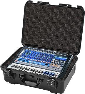 Gator Cases Injection Molded ATA-300 Certified Waterproof Mixer Case; Custom Foam Insert for Presonus StudioLive 16.0.2 (G...