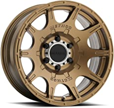 Method Race Wheels Roost Bronze Wheel with Machined Center Ring (17x8.5