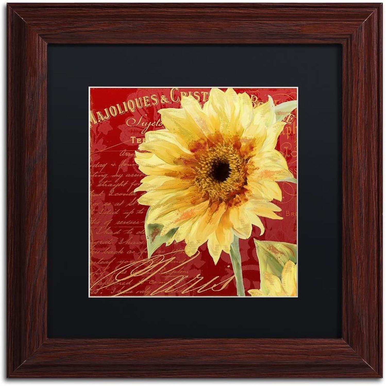 Trademark Fine Art ALI4461-W1111BMF ETE III by color Bakery, Black Matte, Wood Frame 11x11