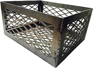 BBQsmokerMods LavaLock Lasercut Fire Box Charcoal Basket, (12in x 10in x 6in)