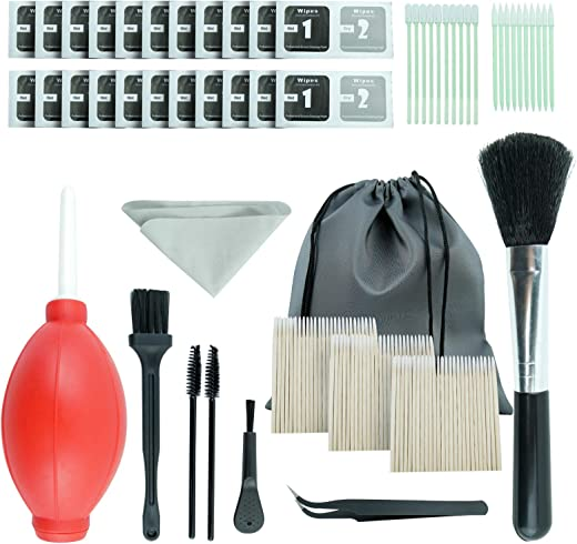 169 pcs for iPhone Cleaning Kit Premium for Airpod Cleaner Kit Perfect Bundle with Swabs and Pads Ultimate for AirPod...