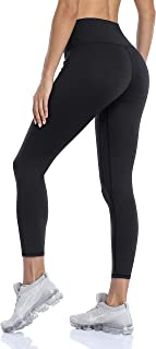 ATTRACO Texture Print High Waisted Leggings for Women Tummy Control Athletic Workout Butt Lifting Yoga Pants