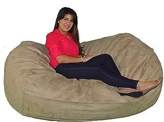 Cozy Sack 640-CBB-BUCKSKIN Maui Beanbag Chair, 6', Buckskin