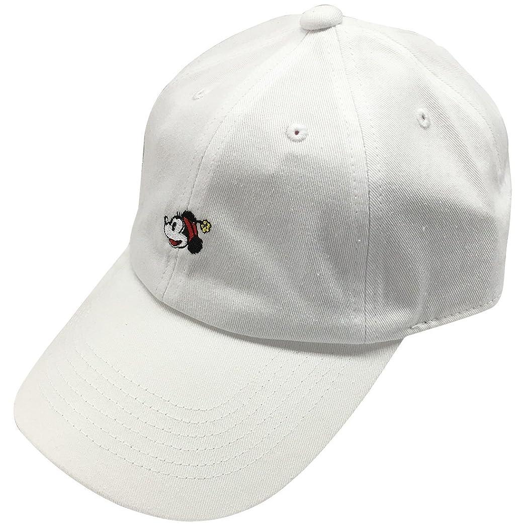 娯楽局ホイットニーディズニー 刺繍CAP ミニーマウス ホワイト AWDS4414