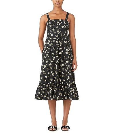 Kate Spade New York Daisy Dots Al Fresco Midi Dress