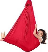 LICHUXIN Therapy Swing for Kids with Special Needs (Hardware Included) Swing Cuddle Indoor Adjustable Hammock for Adult wi...