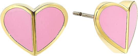 Kate Spade New York Women's Heritage Spade Heart Stud Earrings
