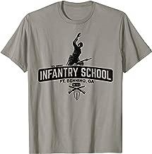 Mens GS Military Designs, US Army Infantry School -Benning, Shirt