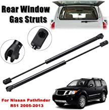 2pcs Rear Window Glass Gas Struts Support Sring For Nissan Pathfinder R51 2005-2013 90460ZL90A