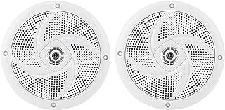 Alto-falantes marítimos, 60 W, 16,5 cm, 2 vias, à prova d'água e resistente ao clima, sistema de som estéreo para iate, ba...