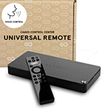 Caavo Universal Remote and Smart Home Theater Hub/HDMI Switch with Voice Control for Roku, Apple TV, Nvidia Shield, Streaming Sticks, Sonos, Netflix, Hulu, YouTube, Cable/Sat TV, Sound Bars & More