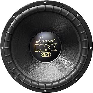 Lanzar 15in Car Subwoofer Speaker - Black Non-Pressed Paper Cone, Stamped Steel Basket, Dual 4 Ohm Impedance, 1200 Watt Po... photo