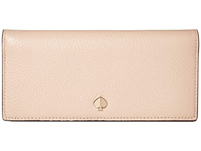 Kate Spade New York Polly Bifold Continental Wallet (Blush) Wallet