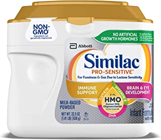Similac pro-sensitive infant Formula With 2'-Fl human milk oligosaccharide* (hmo) for Immune Support, 22.5 Oz
