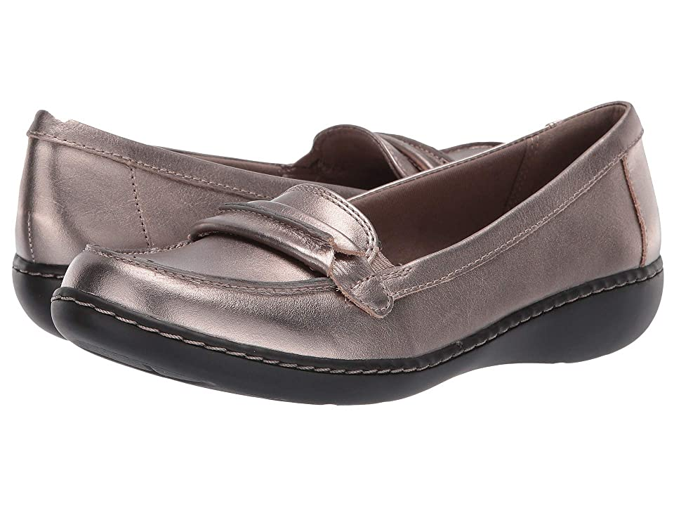 Clarks Ashland Lily (Pewter Leather) Women