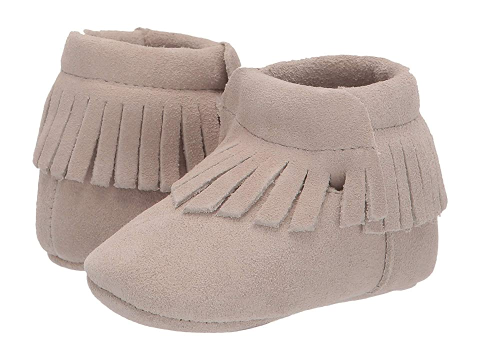 Baby Deer Soft Sole Suede Moccasin (Infant) (Tan) Girl