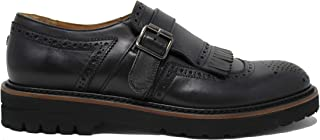Brimarts Single Monk Strap da Uomo - 312398 1988EVA1 Nero