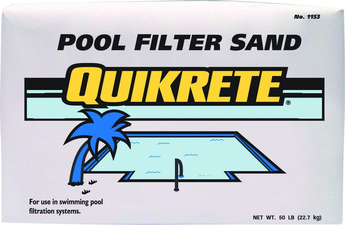 Quikrete Pool Filter Free shipping anywhere in the nation Swimming sold out Sand
