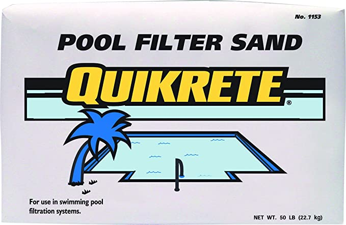 Quikrete Pool Filter Sand Swimming Swimming Pool Sand Filters Garden Outdoor Amazon Com