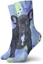 wonzhrui Boston Terrier And French Bulldog Adult Socks Cotton Cool Short Socks For Yoga Hiking Cycling Running Soccer Sports