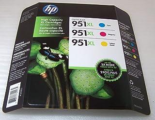 HP 951XL High Yield Ink Cartridge Color 3 pk
