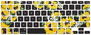MOSISO Pattern Keyboard Cover Compatible with MacBook Pro 13/15 inch(with/Without Retina Display,2015 or Older Version),Ol...
