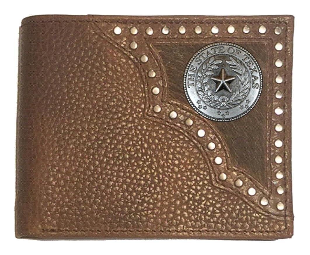 長さ願望恐れるGenuine Texas Brand ACCESSORY メンズ US サイズ: Bifold カラー: ブラウン