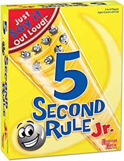 University Games BOX-01238 5 Second Rule Junior Game