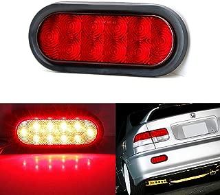 iJDMTOY JDM Style Red Lens LED Backup Reverse Light For Acura Honda Nissan Mazda Subaru Toyota etc, Powered by (10) Super Bright LED Lights