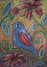 Blue Bird by Karla Gerard Art Print, 10 x 14 inches