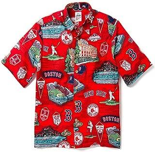 Men's Boston Red Sox MLB Classic Fit Hawaiian Shirt