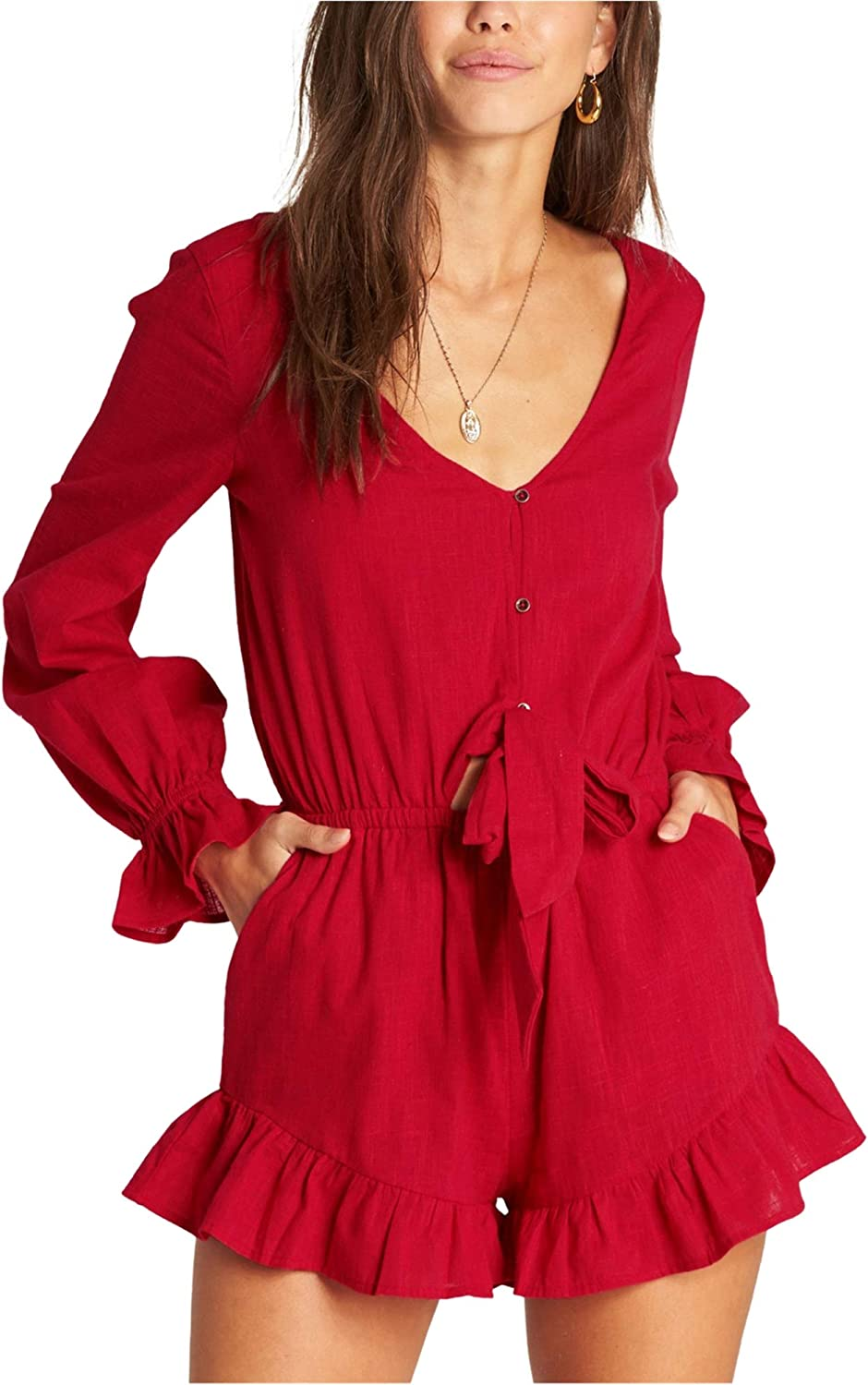 Factory outlet Billabong Women's Play Limited price Romper All Day