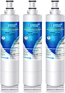 ICEPURE 4396508 Replacement for Whirlpool 4396510, EDR5RXD1, NLC240V, PNL240V, 4396508p, 4396547, 4392857,4396510p, 9010, LC400V, WF-NLC240V,46-9010, Everydrop Filter 5 Refrigerator Water Filter,3PACK