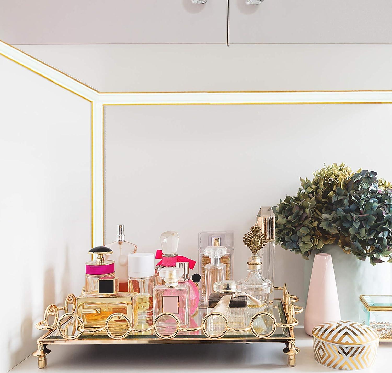 16 Feet Peel /& Stick Ceiling Molding Wall Trim Caulk Strip for Molding Wall Corner Floor Flexible Molding Trim Self Adhesive Gold Tile Edge Baseboard Ceiling