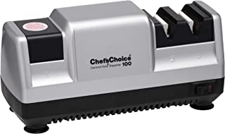 Chef`sChoice 3-Stage Chef'sChoice 100 Electric Knife Sharpener For Carbon Stainless Steel Alloy Non-Serrated Knives Diamon...