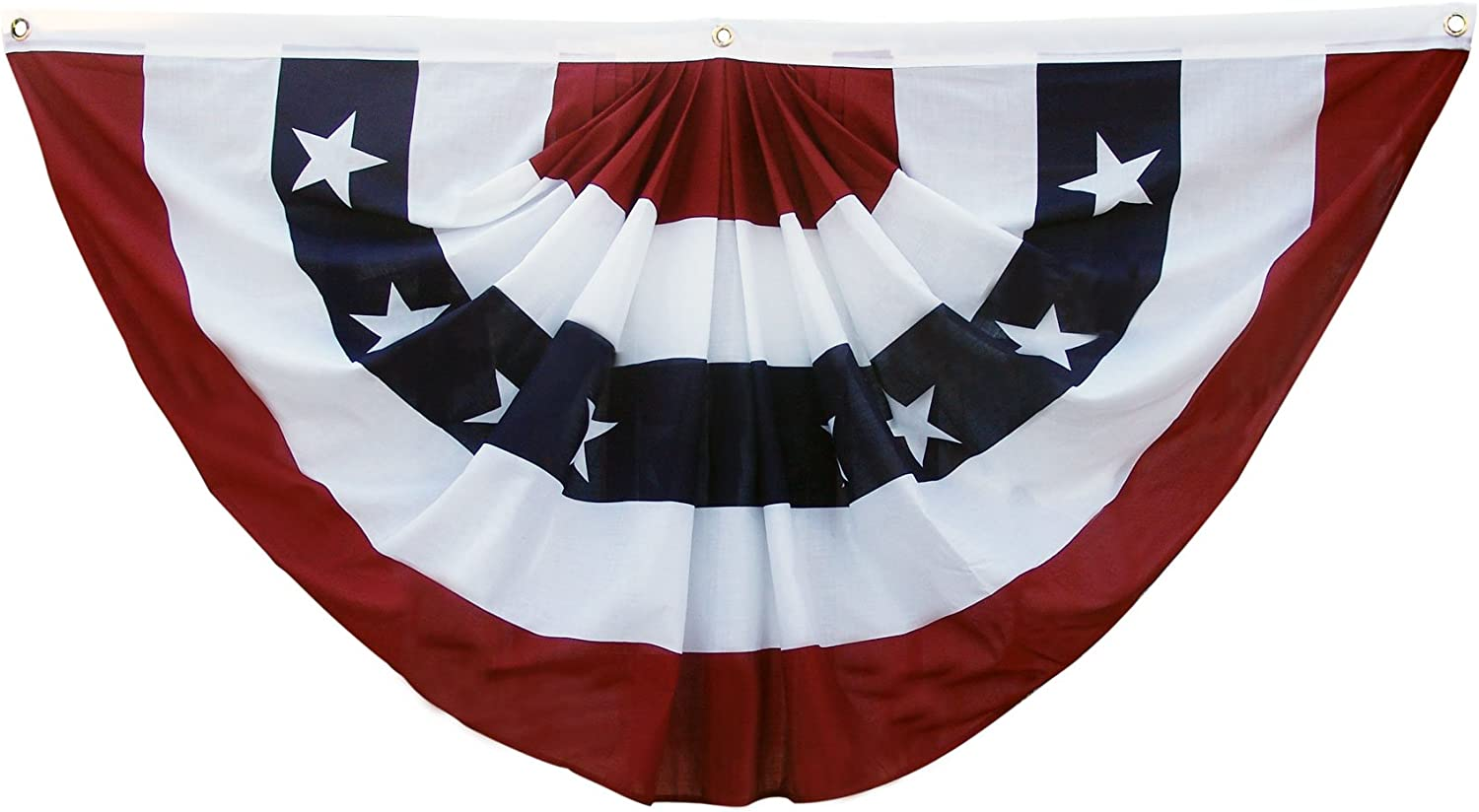 Amazon Com Super Tough Printed Polyester Pleated Fan 3 By 6 Feet Outdoor Flags Garden Outdoor