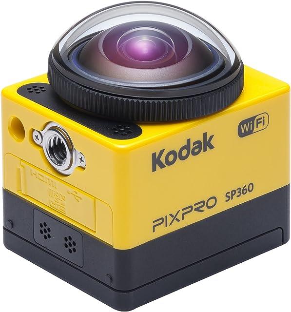 Kodak PixPro SP360 cámara para deporte de acción Full HD MOS 1752 MP 254 / 233 mm (1 / 2.33) Wifi 103 g - Cámara deportiva (Full HD 1920 x 1080 Pixeles 120 pps 848 x 4801280 x 7201280 x 9601920 x 1080 H.264MP4 1080p720p)