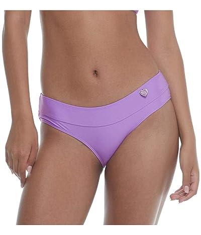 Body Glove Smoothies Hazel Solid Mid Coverage Bikini Bottom Swimsuit