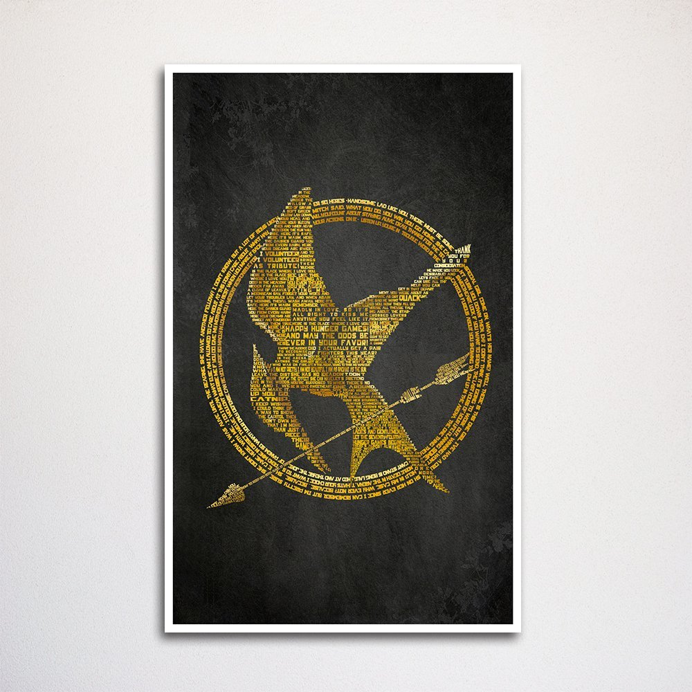 MOVIE POSTER AB064 Poster Print Art A0 A1 A2 A3 THE HUNGER GAMES KATNISS