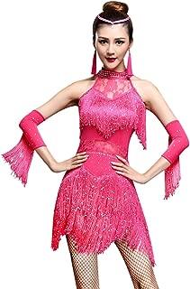 pink latin dress