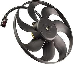 TOPAZ 6X0959455C Left Driver Side Radiator Cooling Fan Assembly for Volkswagen Beetle 1998-2006