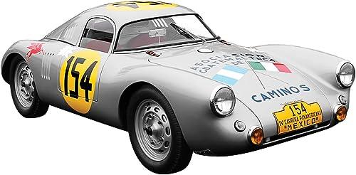 barato True True True Scale Dickie de Dickie-Schuco 413311048 Porsche 550  154de 1953de 1  43la Carrera Panamericana Coupé, Resin, plata  marca famosa