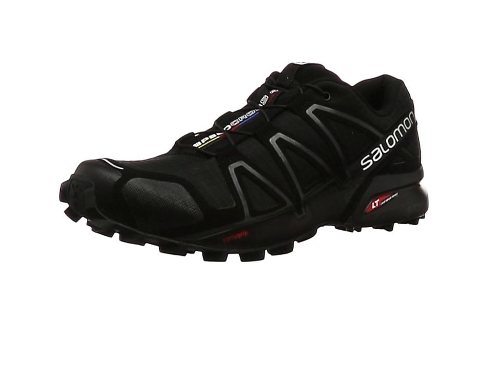 Salomon Speedcross 4, Zapatillas de Trail Running para Hombre, Negro (Black/Black/Black Metallic), 40 EU: Amazon.es: Zapatos y complementos
