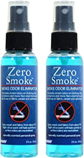 Jenray Smoke Odor Eliminator Spray 2 Oz. Smoke Smell Eliminator (2)