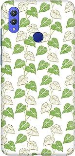 Stylizedd Huawei Honor 8X Slim Snap Basic Case Cover Matte Finish - Vine Leaves