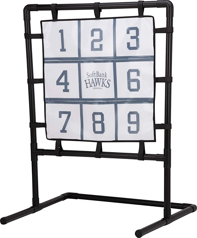 かかわらず鳴り響くトラフSoftBank HAWKS (ソフトバンクホークス公式) 野球 ストラックアウト マジックピッチング くっつき抜群 ボール12個入り
