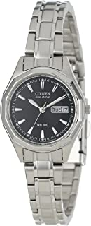 Citizen Women's EW3140-51E Eco-Drive Stainless Steel...